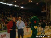 Annonce du Tournoi du Coeur 2006 lors de la rencontre JAV-St Quentin